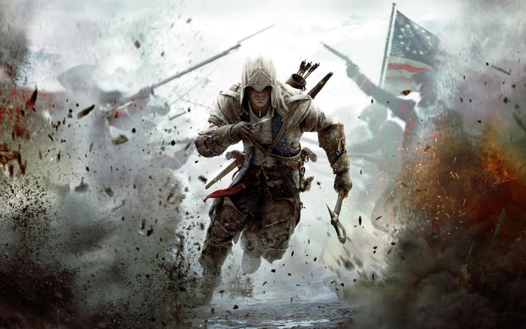 Cena do game Assassin´s Creed - tão violento que deveria ser impróprio para crianças, mas que é acessado livremente, produzindo distúrbios nas mentes infantis.