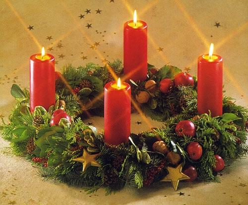 A Coroa do Advento, símbolo natalino