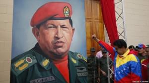 Maduro e Hugo Chavez