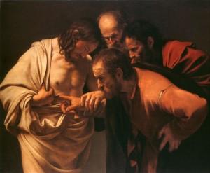 """""""A Incredulidade de São Tome"""", por Caravaggio"""