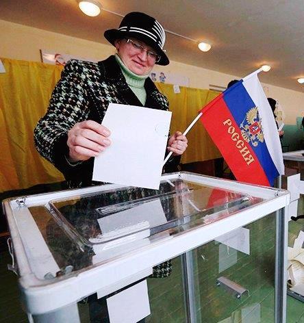 Fraude na Criméia: apenas 15% aprovaram anexação à Rússia