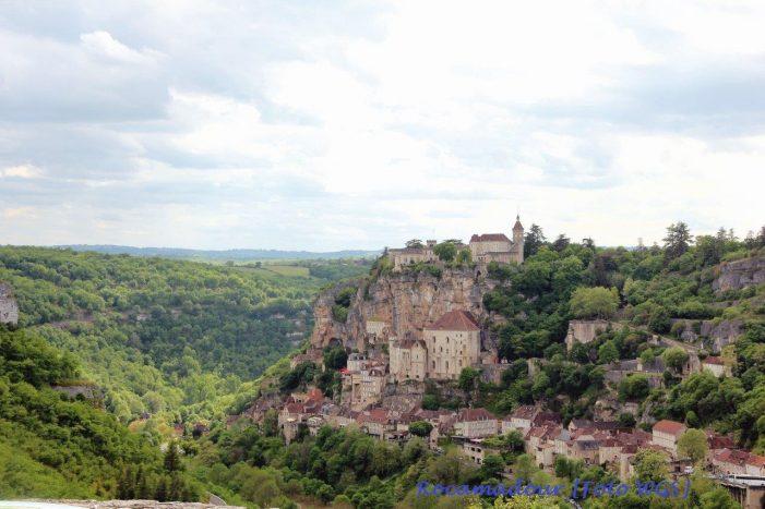 Rocamadour, símbolo de fé encravado na rocha