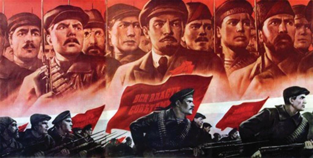 Propaganda soviética da época de Lênin
