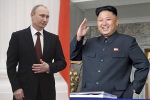 Putin e Kim