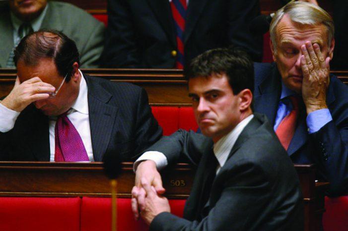 Primeiro-ministro francês adverte: a esquerda pode morrer