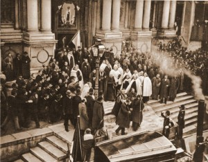 Chegada do novo Patriarca de Veneza em 24-11-1894