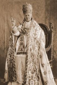 São Pio X no início de seu pontificado em 1903