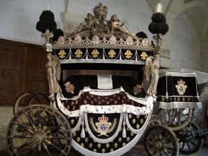 Carruagem usada nos funerais de Luis XVIII (Exposta em Versailles)