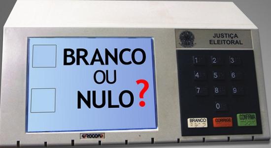 Mais de sete milhões de brasileiros votaram em branco ou anularam seu voto