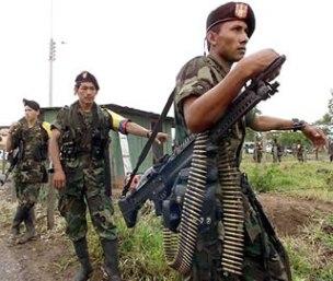 Capitulação e traição na Colômbia
