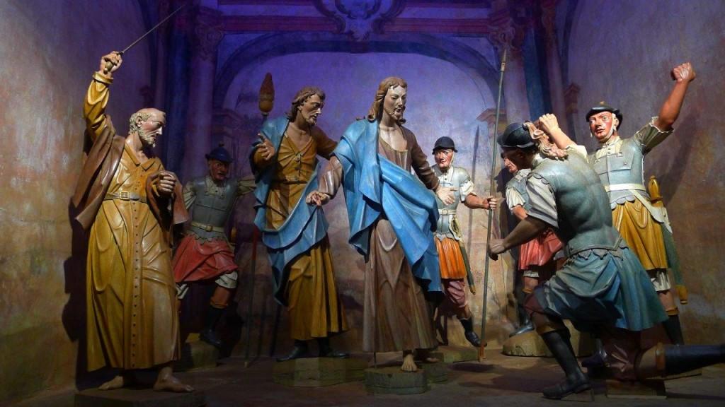 A prisão de Nosso Senhor Jesus Cristo no Horto das Oliveiras