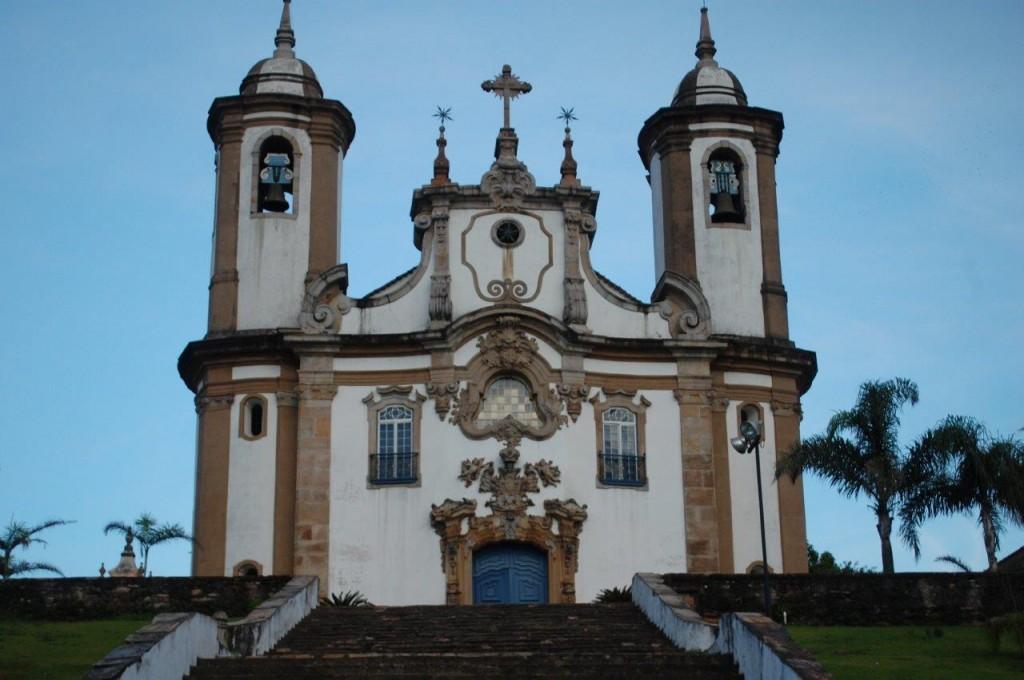 Igreja do Carmo, em Ouro Preto
