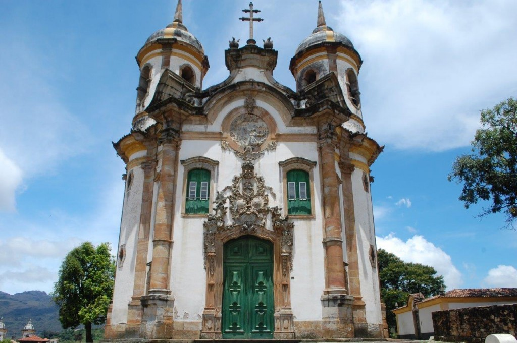 Igreja de São Francisco de Assis, em Ouro Preto