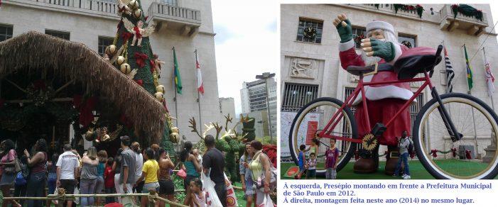 O Menino Jesus foi expulso da Prefeitura de São Paulo — gestão PT, é claro!