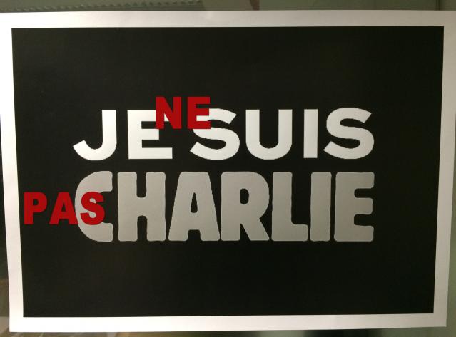 Eu NÃO sou Charlie. Então, o que sou?