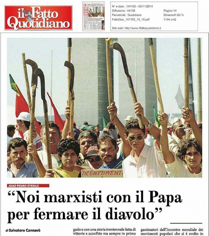 MST: da invasão à sacristia, e da sacristia ao Vaticano