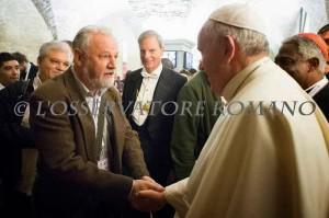 João Pedro Stedile fez o discurso de encerramento do encontro de Movimentos Populares no Vaticano.