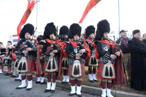 """""""TFP Bagpipers at the 2015 March for Life"""""""