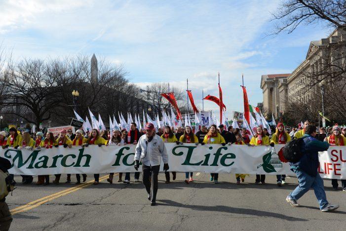 TFP americana na marcha de meio milhão contra o aborto