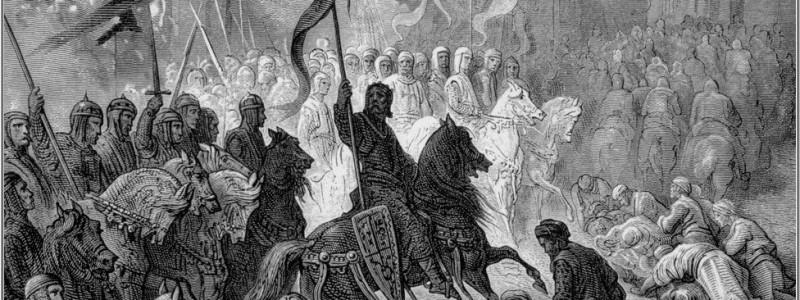 Gustave Dore - Entrada dos Cruzados em Constantinopla