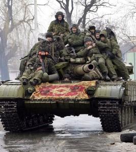 Rebeldes da autoproclamada República de Donetsk foram rearmados pela Rússia