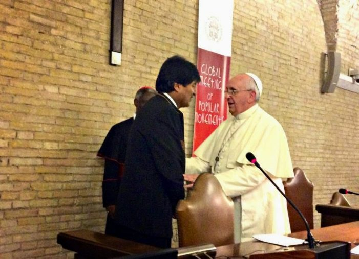 O Papa Francisco e a corrupção