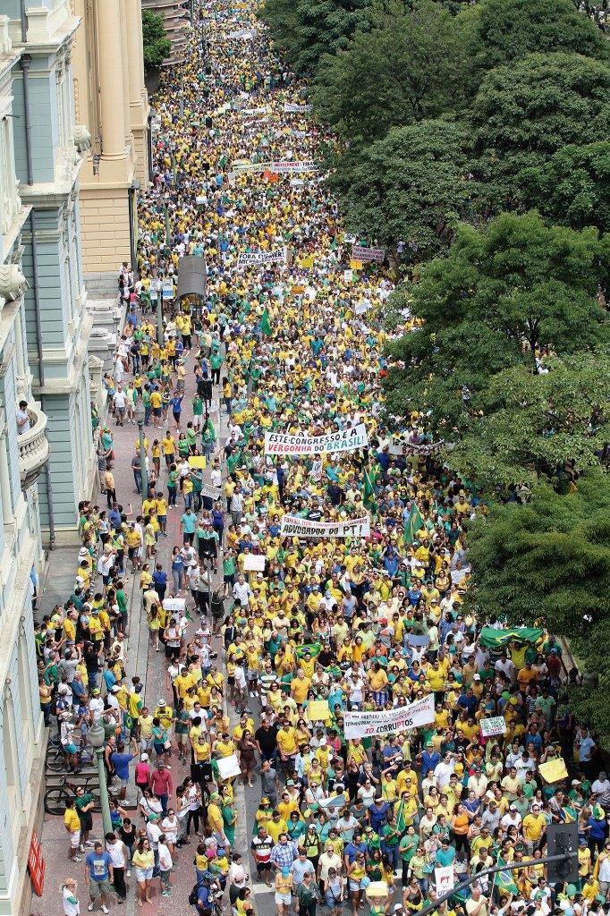 Em Belo Horizonte [Foto Marcelo Sant´Anna]
