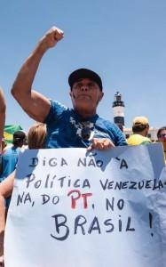 Em Salvador. Foto: João Alvarez