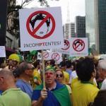 Protesto na Av. Paulista em 15 de março [Foto PRC]