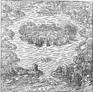 Batalha dos portugueses contra os calvinistas. Sergipe (1560), Forte Coligny