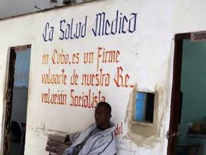 Posto de atendimento em Cuba
