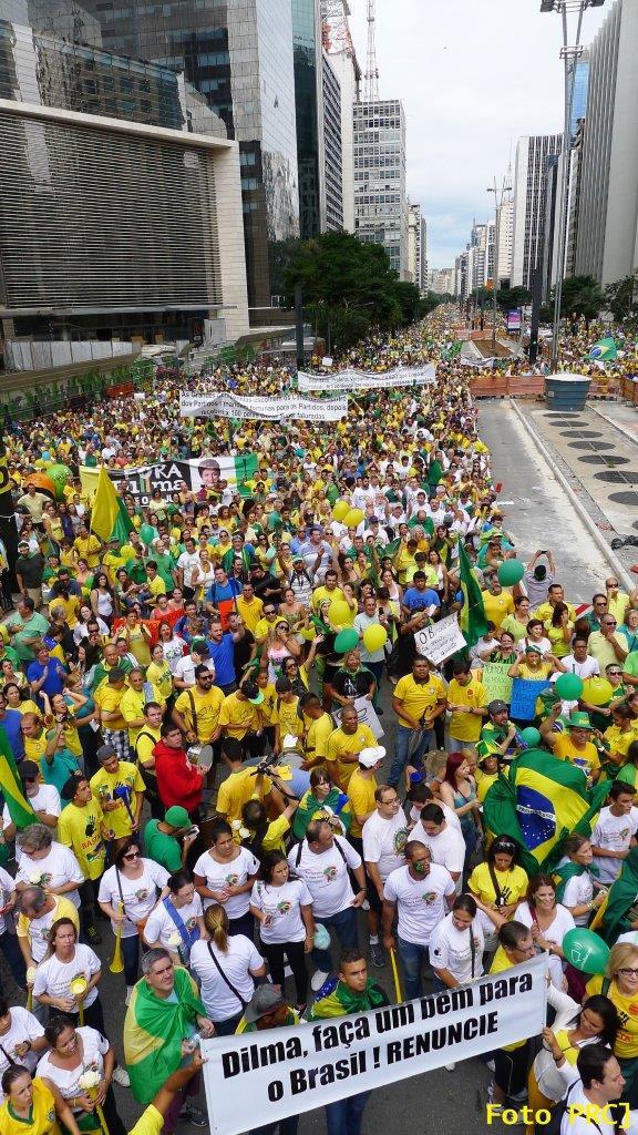 Av. Paulista, 15 de março de 2015 [Foto PRC]