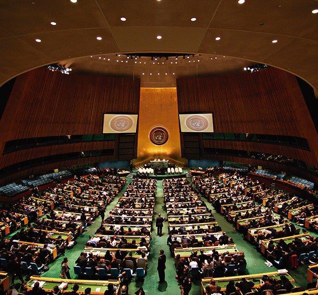 Obrigando a ONU a recuar