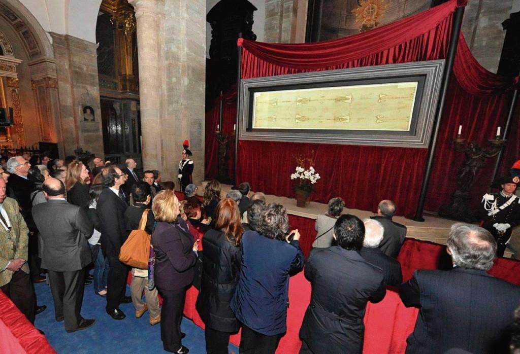 """""""Duomo di Torino"""", local da exposição do Santo Sudário"""