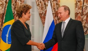 Dilma e Putin Russia