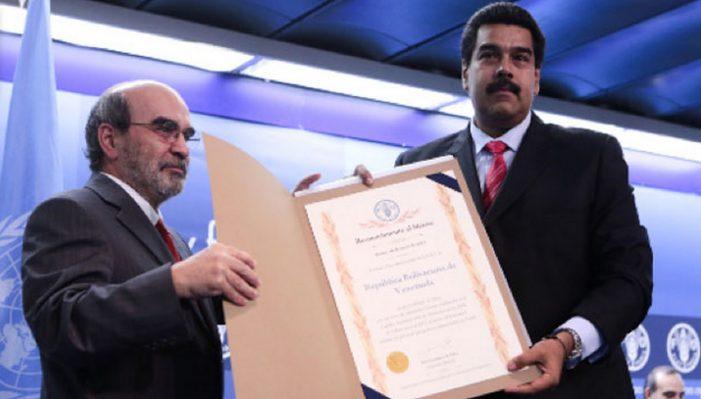 Petista na FAO premia disseminador da fome