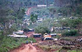 Itamaraty, de fazenda-modelo a favela rural