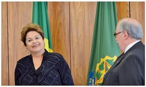 Em Cuba, na inauguração do Porto de Mariel, Dilma Rousseff, Raul Castro e Nicolás Maruro