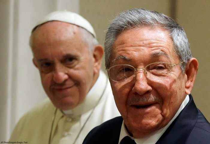 Comunicado do Instituto Plinio Corrêa de Oliveira: Papa Francisco em Cuba