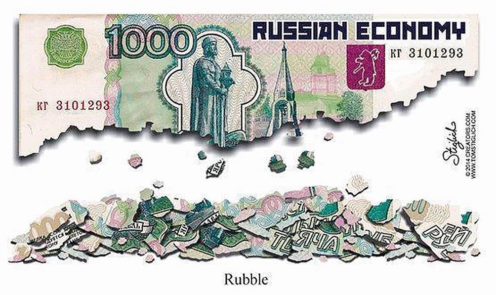 Empobrecimento bastante acentuado na Rússia