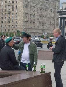 O alcoolismo reduziu, na Rússia, a expectativa de vida masculina à faixa de 50 anos.