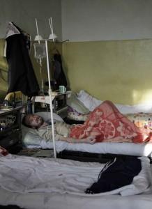 Na Rússia, os recursos para combater as doenças foram cortados drasticamente
