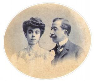 Dona Lucilia e João Paulo Corrêa de Oliveira, pais de Dr. Plinio