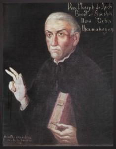 Anchieta, Apóstolo do Brasil, fundador da cidade de São Paulo e co-fundador do Rio de Janeiro. Pintura de Oscar Pereira da Silva (1865-1939).