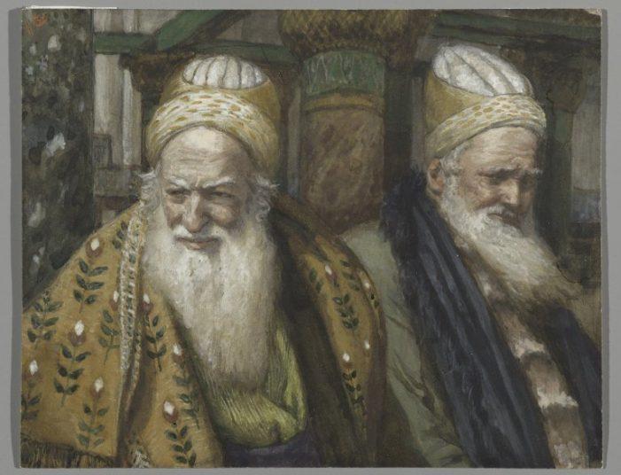 Os fariseus e os saduceus do nosso tempo