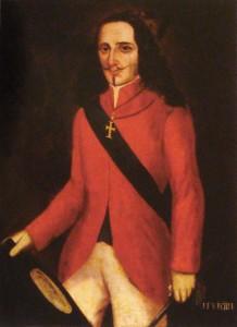 João Fernandes Vieira, retrato anônimo (séc. XVII), Museu do Estado de Pernambuco