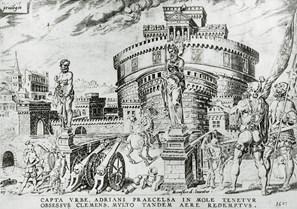 Invasão do Castelo de Sant'Angelo pelos mercenários Landsknechtes em 1527