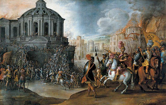 O Saque de Roma, um castigo misericordioso