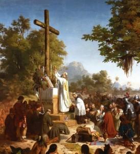 Primeira Missa no Brasil - Victor Meirelles de Lima, 1860. Museu Nacional de Belas Artes, Rio de Janeiro.
