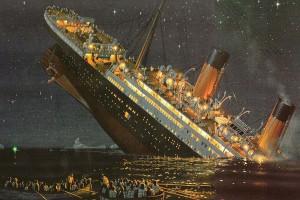 Verdadeiro palácio flutuante, era o navio maior e mais luxuoso já construído...